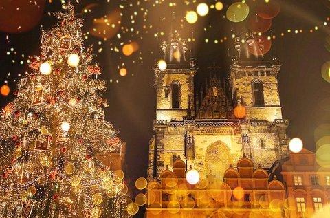 2 napos adventi hétvége Prágában, buszos úttal