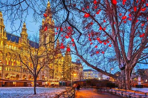 Látogatás Bécsben és a Schönbrunni kastélynál