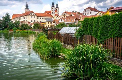 Csehországi pihenés várbelépővel Telcben