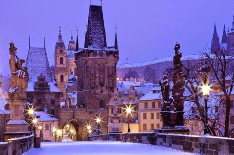 3 napos téli kikapcsolódás Prágában, hétvégén is