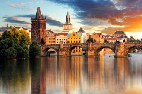 Lazító napok kora tavaszig Prága központjában