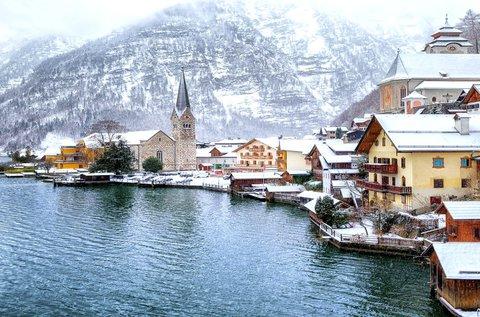 Mesés adventi kiruccanás Hallstattba és Salzburgba