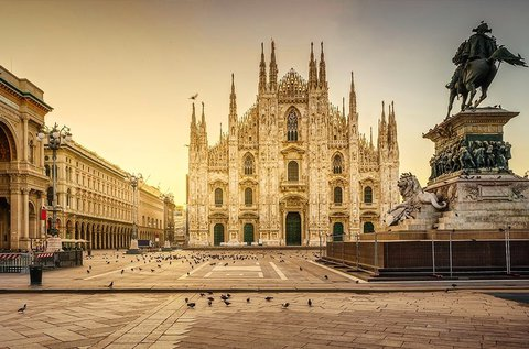 4 napos városlátogatás Milánóban repülővel