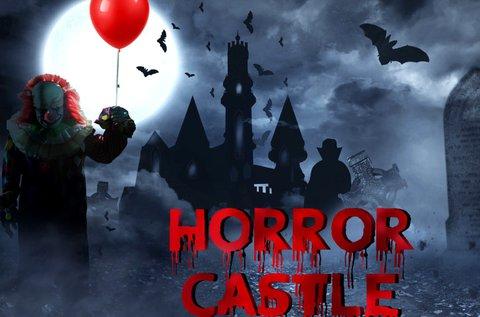 Horror kastély szabadulós játék 5-6 főre 60 percben