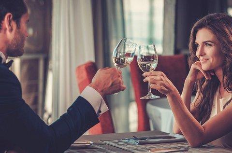 Romantikus vacsora 2 fő részére a Budai-hegyekben