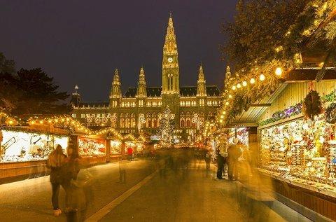 Adventi utazás 1 főnek a bécsi karácsonyi vásárra