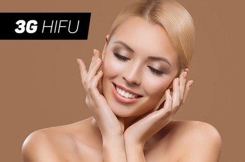 3G HIFU kezelés arcon, nyakon és dekoltázson