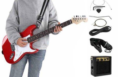 Elektromos gitár szett erősítővel kezdőknek
