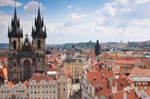 Romantikus andalgás Prágában, hétvégén is