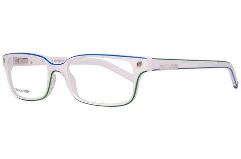 Dsquared2 fehér színű unisex szemüvegkeret