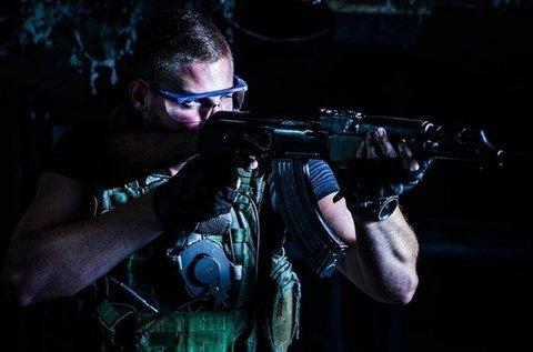 Rambo csomag 1 főre 60 lövéssel, 6 féle fegyverrel
