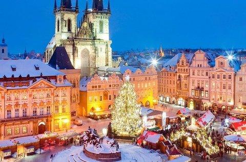 Adventi hétvége a mesés Prágában repülővel
