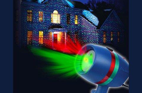 Karácsonyi fényjáték 8 féle beállítással