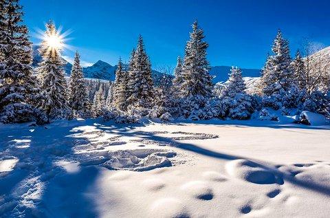 Decemberi vagy februári kiruccanás Zakopánéba