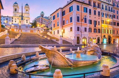 Emlékezetes pihenés az örök Rómában, hétvégén is