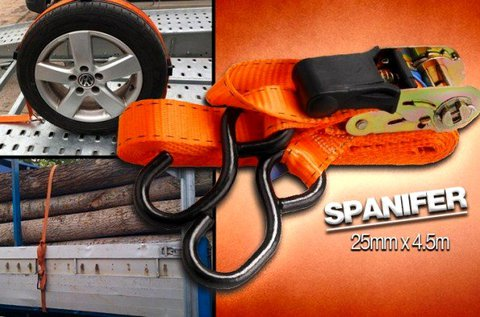 Racsnis spanifer 180 kg-os teherbírással