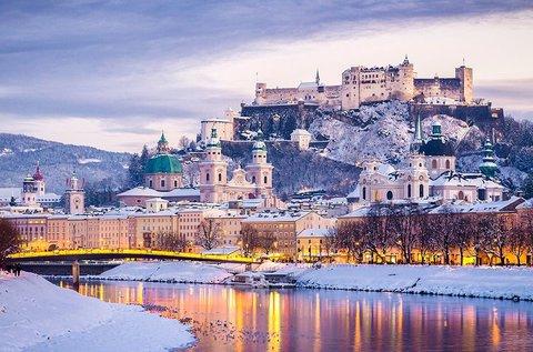 Adventi kikapcsolódás Salzburgban, buszos úttal