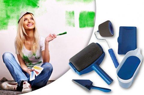 Cseppmentes festés Paint Roller festőhengerrel