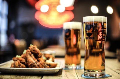 Minőségi kézműves sörök kóstolója a BrewDogban