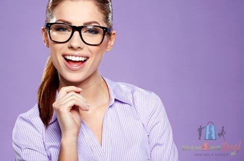 Multifokális szemüveg készítése Hoya lencsével
