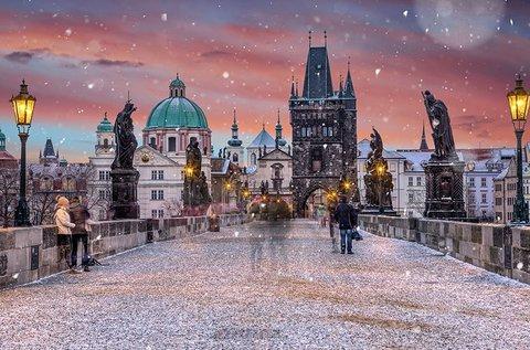 Adventi körutazás Prágába, buszos úttal