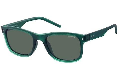 Polaroid gyermek napszemüveg zöld színben