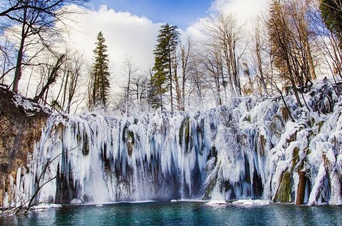 Februári kiruccanás a meseszép Plitvicei-tavakhoz