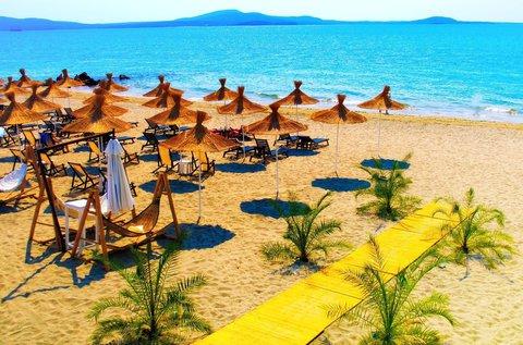 8 napos napfényes nyaralás a bolgár Naposparton