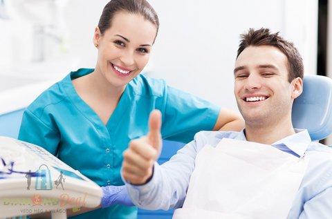 Panorámaröntgen készítés esztétikai fogtöméssel