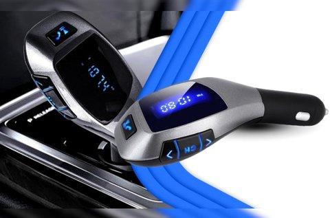 X6 szivargyújtós bluetooth FM transzmitter