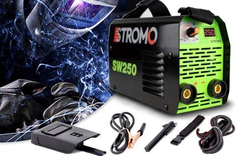 Stromo 250 A-es inverteres hegesztőtrafó