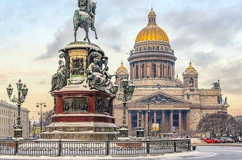 Pihentető napok a cárok városában, Szentpéterváron