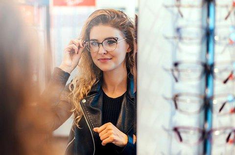 Komplett szemüveg felületkezelt lencsével