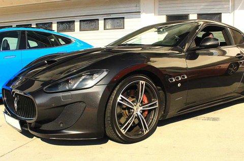 6 kör Maserati GranTurismo vezetés Mogyoródon