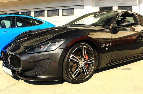 Maserati GranTurismo vezetés 8 körön át