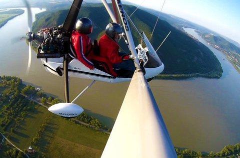 Szárnyalj a magasban motoros sárkányrepülővel!