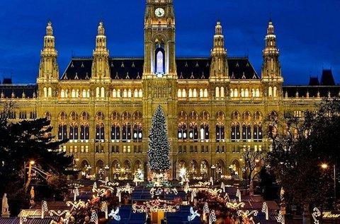 Adventi utazás Bécsbe és a Schönbrunni kastélyhoz