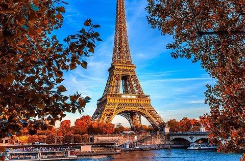Romantika és pihenés Párizsban repülővel