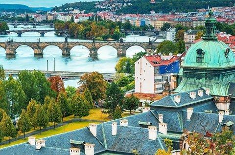 Látogatás a szépséges cseh fővárosban, Prágában