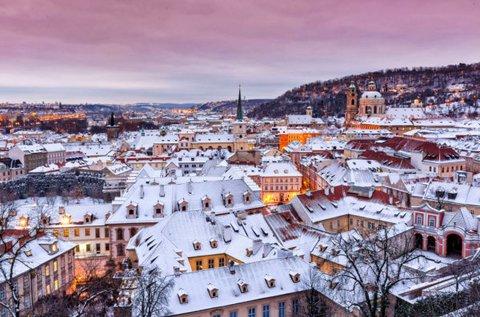 3 napos téli barangolás Prágában, hétvégén is