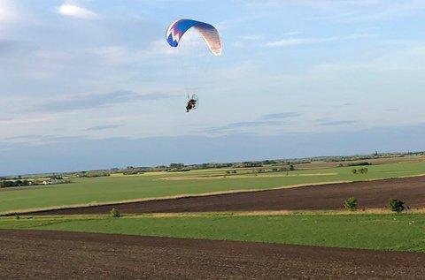 20 perces tandemrepülés motoros siklóernyővel