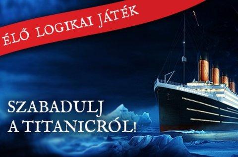Titanic szabadulós játék korhű környezetben