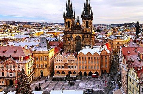 3 napos téli kiruccanás a meseszép Prágába