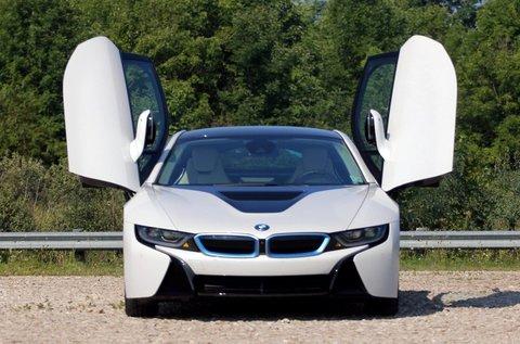 4 körös BMW i8 Plug-in hybrid vezetés Mogyoródon
