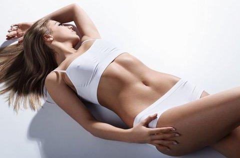 Feszes vonalak 10 alkalom kavitációs zsírbontással