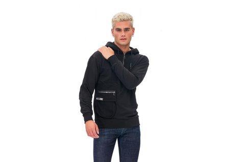 Tom Barron férfi pulóver fekete színben