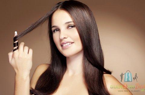 Női hajmosás szárítással, minden hosszra