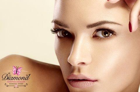 Hidratált, ránctalan bőr mélytápláló arcvasalással