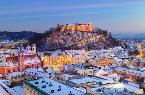 3 napos téli felfrissülés Ljubljana központjában