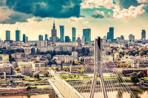 3 napos családi feltöltődés a gyönyörű Varsóban